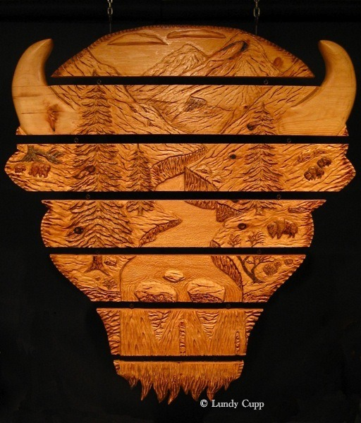 Wood sculptures woodcarving lundy cupp