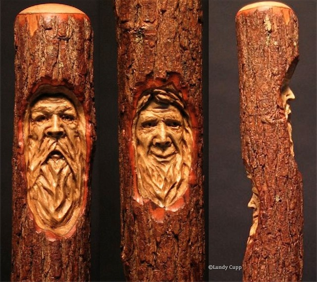 Walking Sticks Canes Wood Carving Lundy Cupp